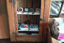 Jewelry Display / Some corico jewelry displays for retail shops...