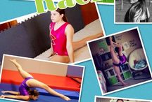 Seven Gymnastics Girls