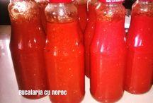 Conserve, muraturi si dulceturi in bucataria cu noroc / conserve, muraturi, dulceturi, gemuri, #zacusca