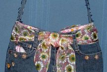 Repurposed Jeans / Things to make with old jeans!
