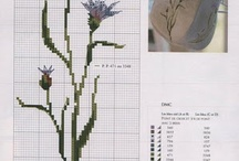 Cross stitch - Botanical