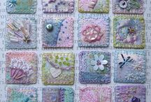Quilts, embroidery and inchies