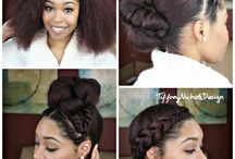 Natural Hair style idea