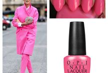OPI&Fashion / OPI nailpolishes and fashion.