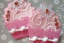 cartes cupcaked