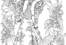 Coloring Book Bonanza / Coloring is a way to relieve stress and add incredible art to our day.