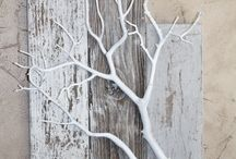 tree branch wall decs