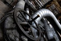 Machinery, Steampunk, Technology, Robotics, Industrial Reference / Reference imagery to help artists with their own creations. Machinery for different art genres, textures, mechanisms, contraptions, from the past, present and all possible futures.