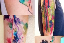 ~Ideas For Watercolor Tattoos~