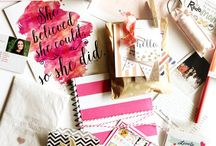 Office Space / Get organized and create personalized stationery, business cards and more for your work space.