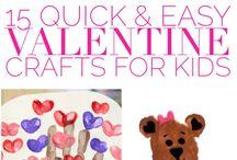 Valentine Crafts / Valentine Crafts, kid crafts, holiday, kid activities, toddler crafts