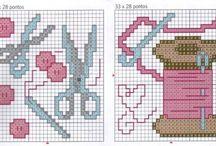 Cross stitch - handmade