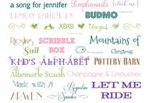 Fonts and Flair / by Cheryl Giannelli