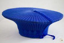 Zulu Married Woman's Ceremonial Hat (Isicholo)