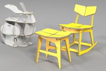 CNC / rocking chair / plywood furniture / cnc router /