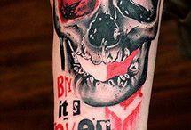 Trash Polka / a new tatto style