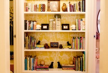 Home:Bookcases / by Kristen Johnson