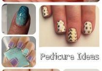 Relax: Mani/Pedi / Fun pedicure ideas and manicure Ideas