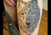 my tattoos / Tatts