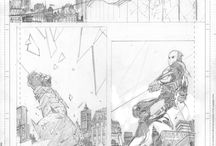 Comic Book Penciling
