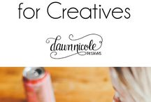 Business Tips for Creatives / Best business tips for running your creative business, blog, website, or easy shop!