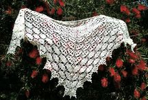 Crochet dress and bonnet