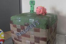 Minecraft cake / Minecraft cake