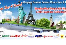 Peluang usaha tiket - travel 100% profit