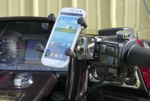 GoldWing Mounts / Showcase for Mounts for the Honda Goldwing: GPS, Phone, Music, Camera, Drink Holders and More