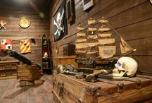 The Pirate Room / Step aboard Blackbeard's ship while he's at port and see if you can find the pieces of his treasure map before he returns