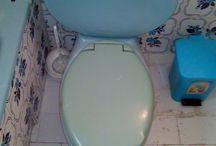 HANDMADE Toilet seat