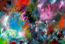 Inspire My Creativity / I do abstract work, mostly acrylic. These amazing images inspire me, make me happy, and drive me to paint. / by Pamela Morgen