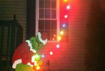 funny christmas ideas / Christmas decorations
