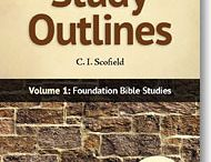 "Bible Study Outlines / Each 48-page booklet contains 20 outlines dealing with various topics that are perfect for individual and group studies. Brand new publication By C. I. Scofield 20 outlines per booklet Books measure 5.25"" x 8.25"" Includes space for notes Available in KJV and NKJV versions"