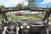 4x4 OffRoad Jeep Hill Driving App