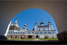Solovetsky / Images of the Solovetsky Monastery from EnglishRussia.com. (I pinned them here so I could view them without the multiple auto-play videos that I couldn't turn off.) The Solovetsky Monastery, founded in 1429 by the monks Herman and Savvatiy, is located on the Solovetsky islands in the White sea. During Soviet times, this was one of the most infamous prisons in the gulag system.