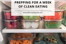 clean eating prep