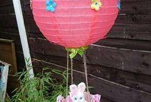 nursery lamp nightlight for kids nursery mobile led hot air balloon / nursery mobile nightlight for kids baby nursery girls bedroom mobile nursery nightlight