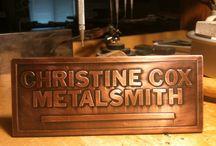 Christine's metalwork