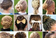 bow hair design