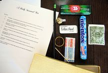 Survival kits/ gift baskets / by Michele Sell