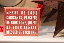 ChRisTMaS!! / by Sherry Beyer Scholten