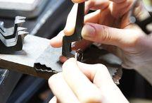 アトリエ風景( ith marriage) / イズマリッジは、オーダーメイドで結婚指輪・婚約指輪をおつくりする工房を兼ねたお店。指輪を手作りしている日々の様子をUP*
