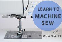 Machine sew
