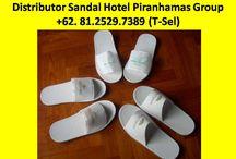 Produsen Sandal Hotel Piranhamas Group +62- 81.2529.7389 (T-sel) / Produsen Sandal Hotel Bandung,Produsen Sandal Hotel Jogja  Kami adalah Supplier amenities hotel di Indonesia yang mendistribusikan dan mensupplai semua keperluan Amenities hotel PESAN SEKARANG JUGA, Hubungi Customer Service Representatif kami : (Call / SMS / WhatsApp) :  +62-81.2529.7389 (Simpati) Alamat : JL. Piranha Atas V / 01, Tunjung Sekar, Malang Telp Kantor : 0341 - 547.5454 Email : Silvi_eko@yahoo.co.id Website : www.piranhamasgroup.com Upload By : L.A. Mahendra