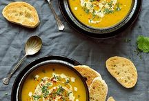 Best soups / meat, fish or vegetarian soups hot and cold soups