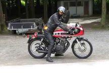 Yamaha xs 400 / stavba motorky