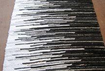 Vävning mattor
