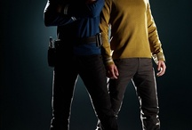 STAR TREK 2009 / SPOCK AND JAMES KIRK