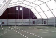 indoor tent court